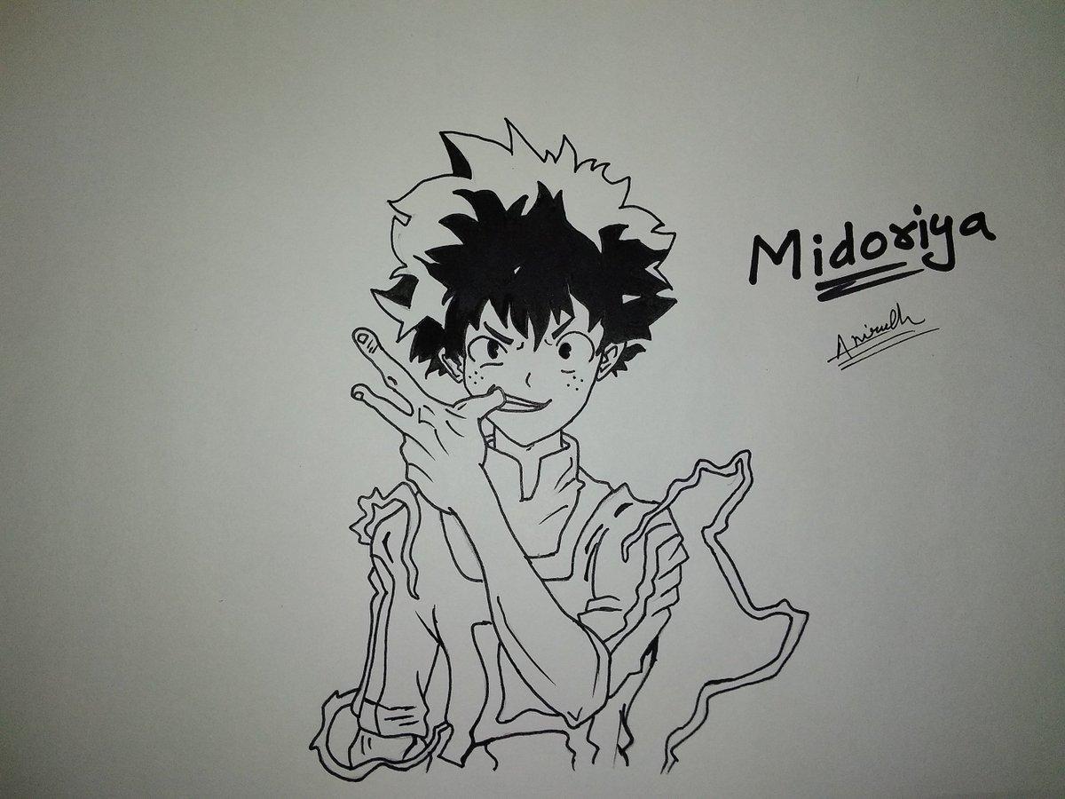 Andy S Sketchpad On Twitter Midoriya Bokunoheroacademia