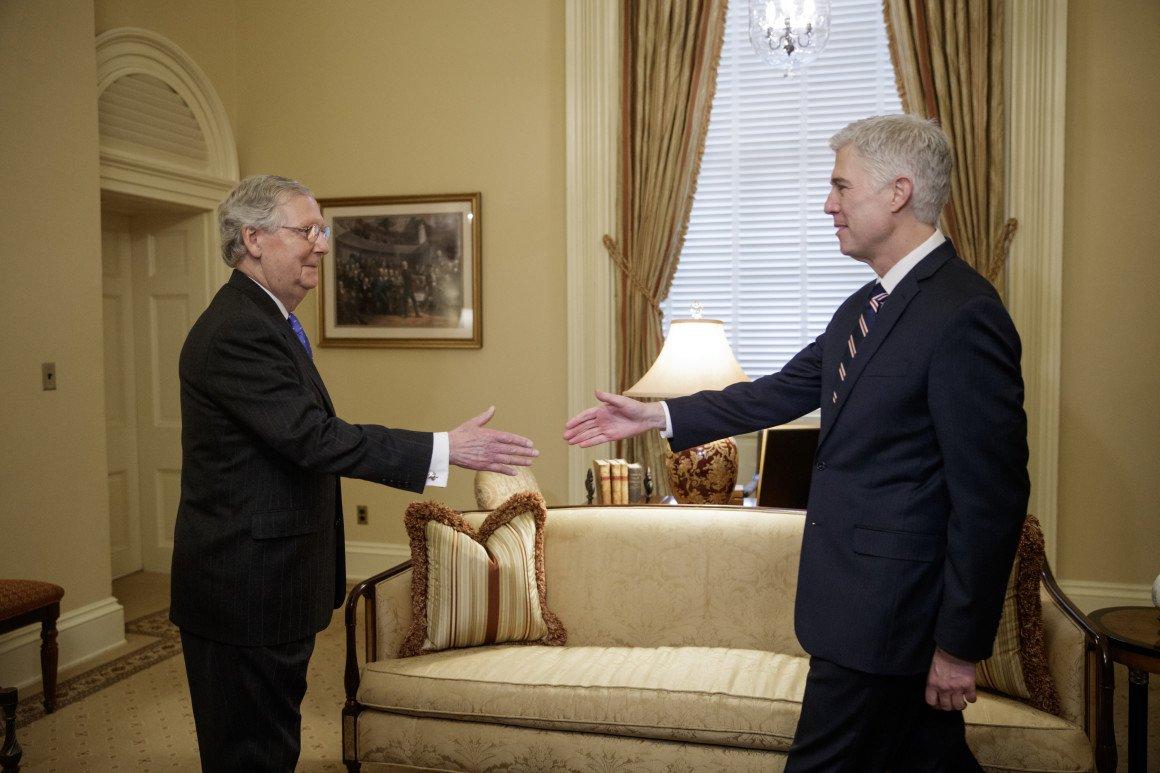 Mitch McConnell's stunning Supreme Court success