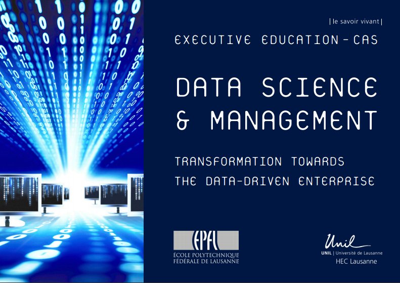 We're excited to teach #DataScience with #KNIME at the @EPFL_en and @unil postgraduate course on data science and management tomorrow in #Lausanne @SDSCdatascience #MachineLearning