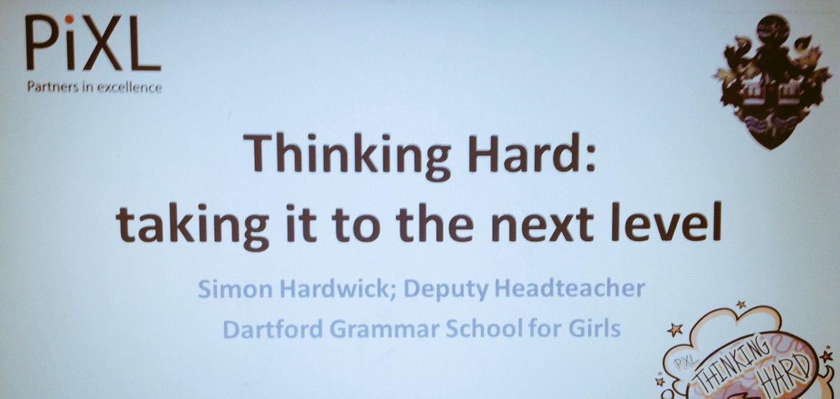 Thinking Hard on Twitter: