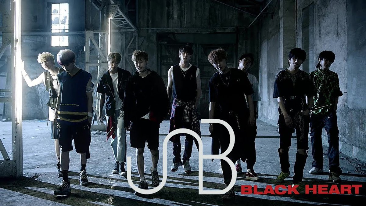 Image result for UNB show their moves in 'Black Heart' MV teaser