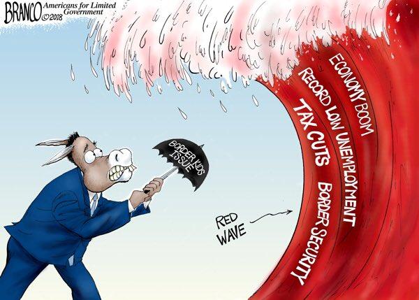 Image result for branco cartoons red wave