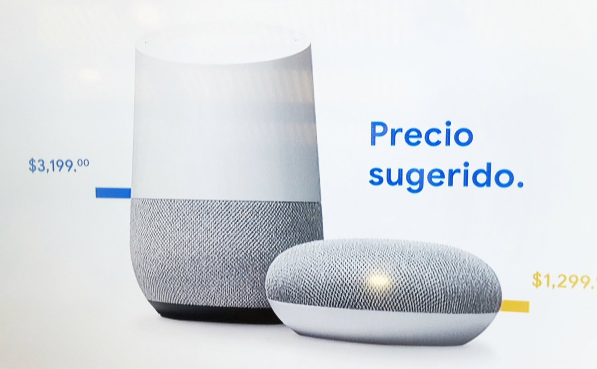 bocina google home mini