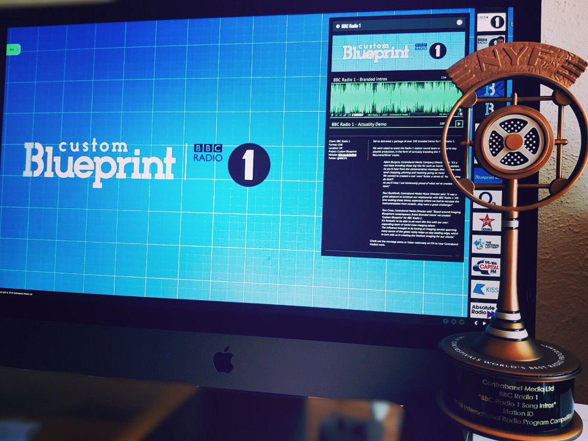 Imaging blueprint iblueprint twitter the teams work for our custom blueprint bbc radio 1 branded intros has arrived proudteam bbcradio1 awardwinningpicitterg0fwbeqrzw malvernweather Images
