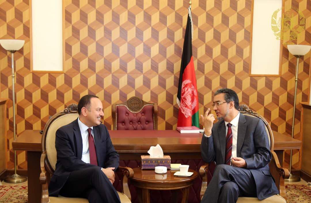 In the meeting with the chairman of Lower House, H.E. Ibrahimi, I informed him about my personal decision to step back from my work as #Afghanistan's Finance Minister.