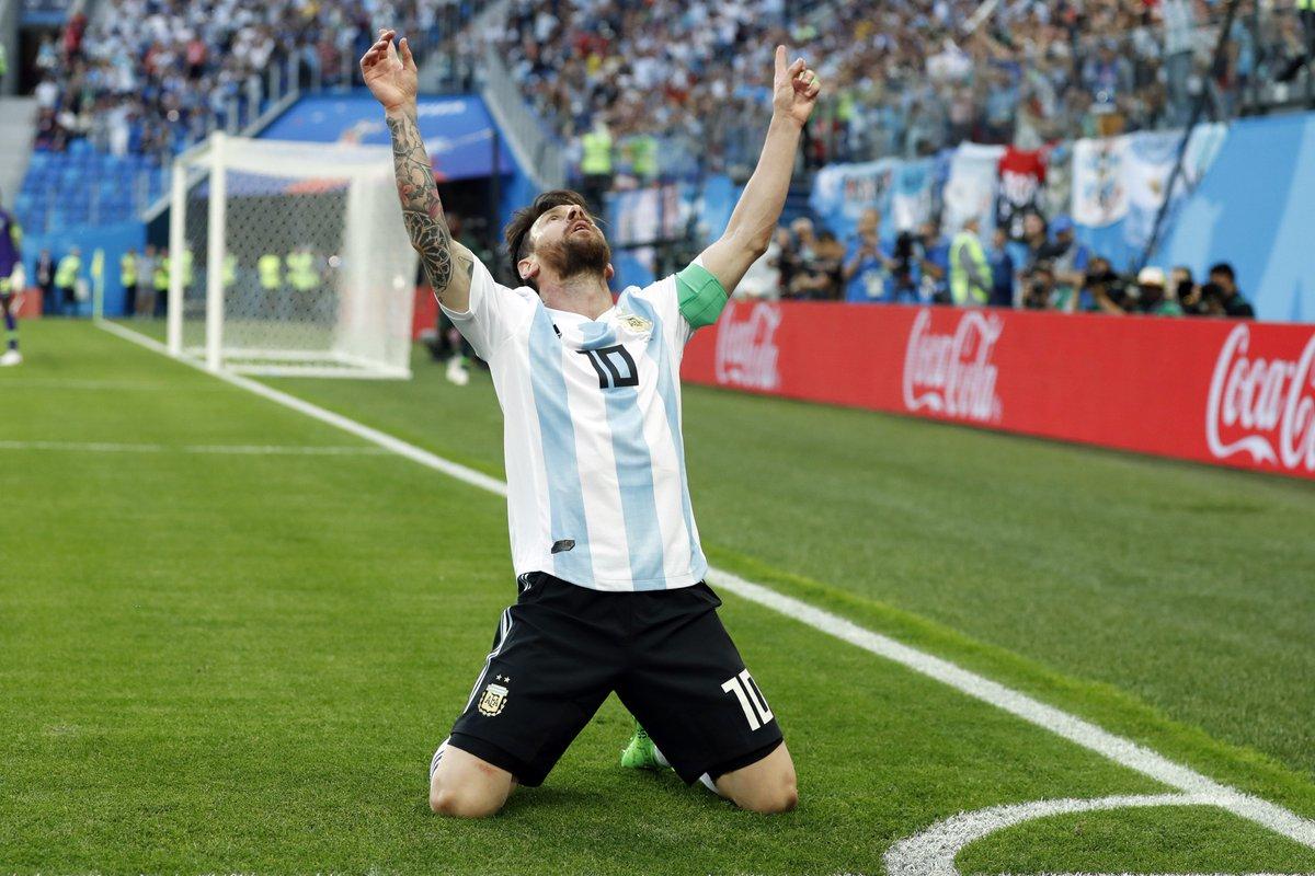 Video: Nigeria vs Argentina