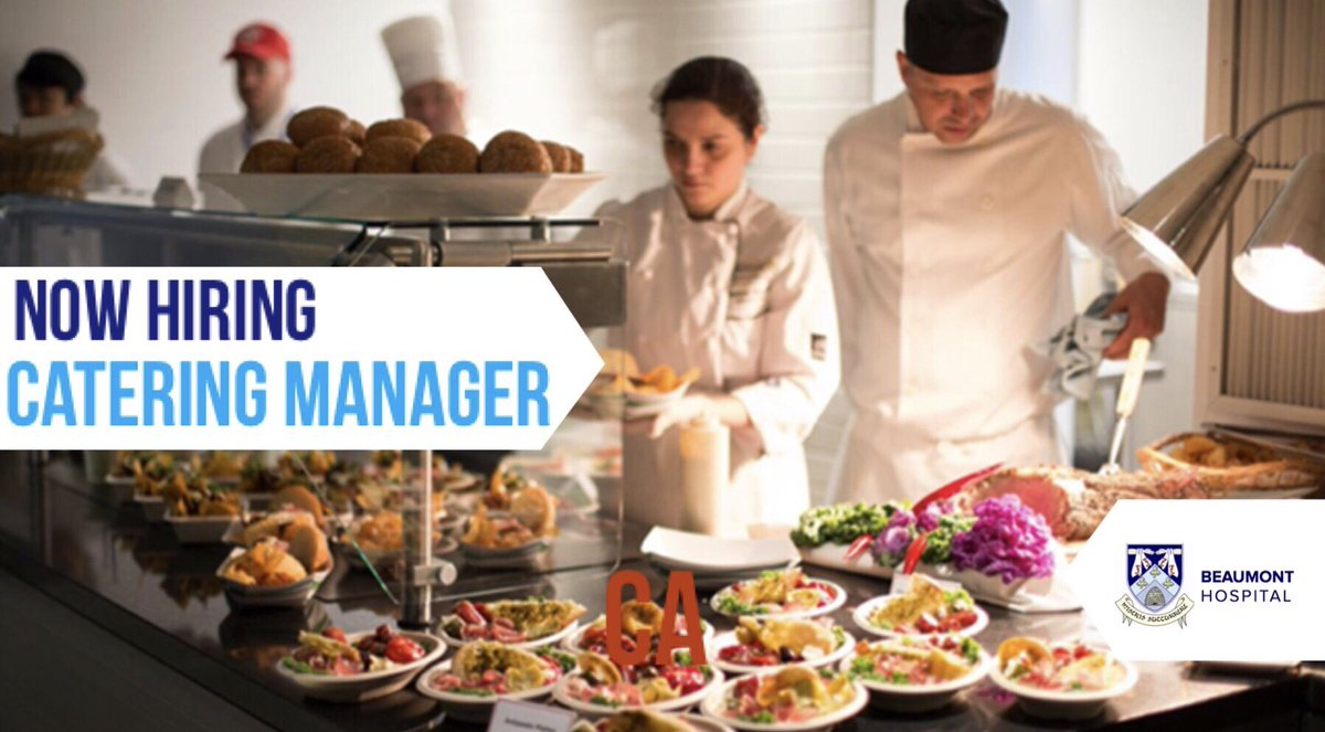 Image result for Catering Manager