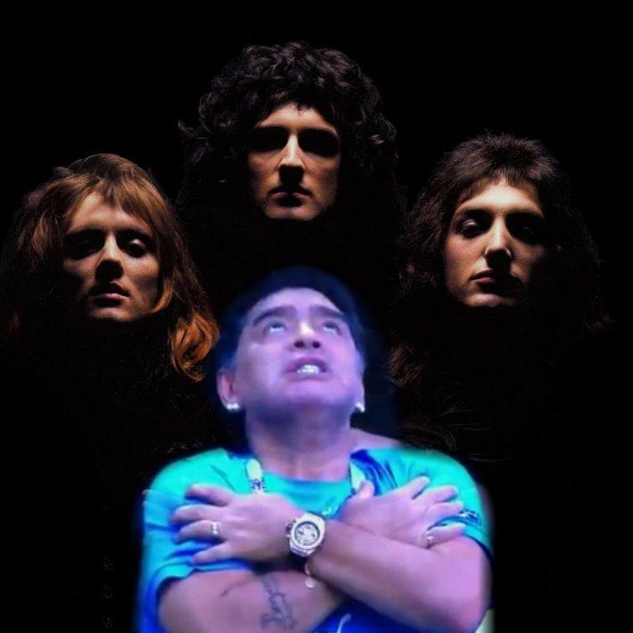 Queen + Diego Armando Maradona #ARG #Rusia2018