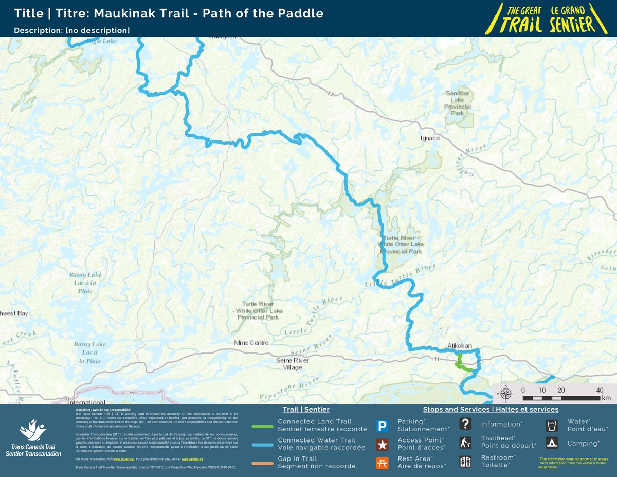 The Great Trail On Twitter Trailtuesday The Maukinak Trail Is