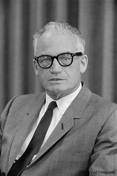 Arizona senator Barry Goldwater won the Republican presidential nomination #OTD in 1964 https://t.co/sCZzBSNlo5