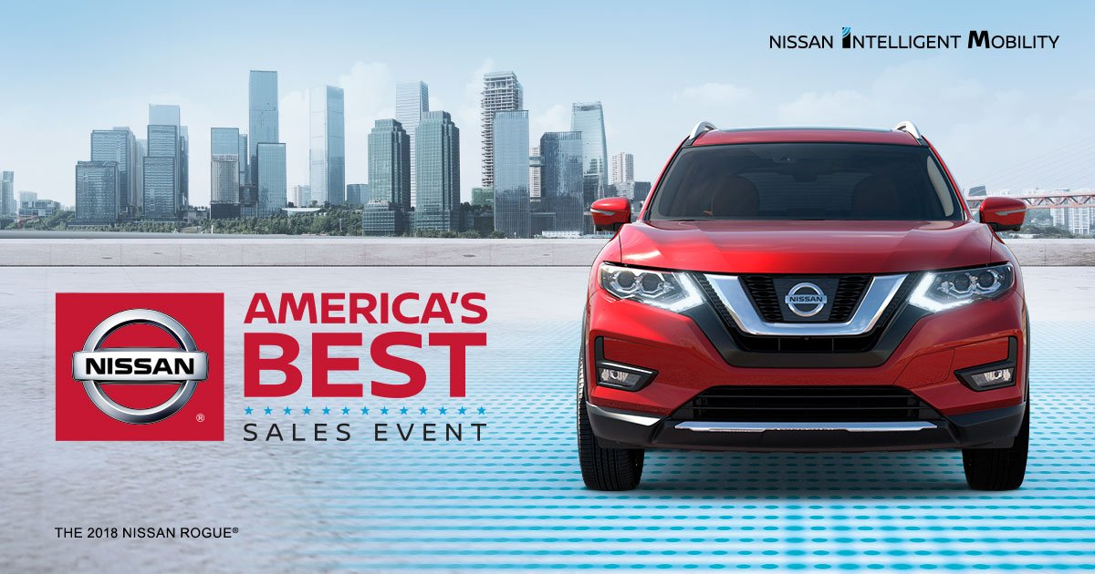 Get To Americau0027s Best Sales Event At John Roberts Nissan And Save On Our  Best Tech. But Hurry, This Event Ends Soon.pic.twitter.com/4nWQ9jB6HN