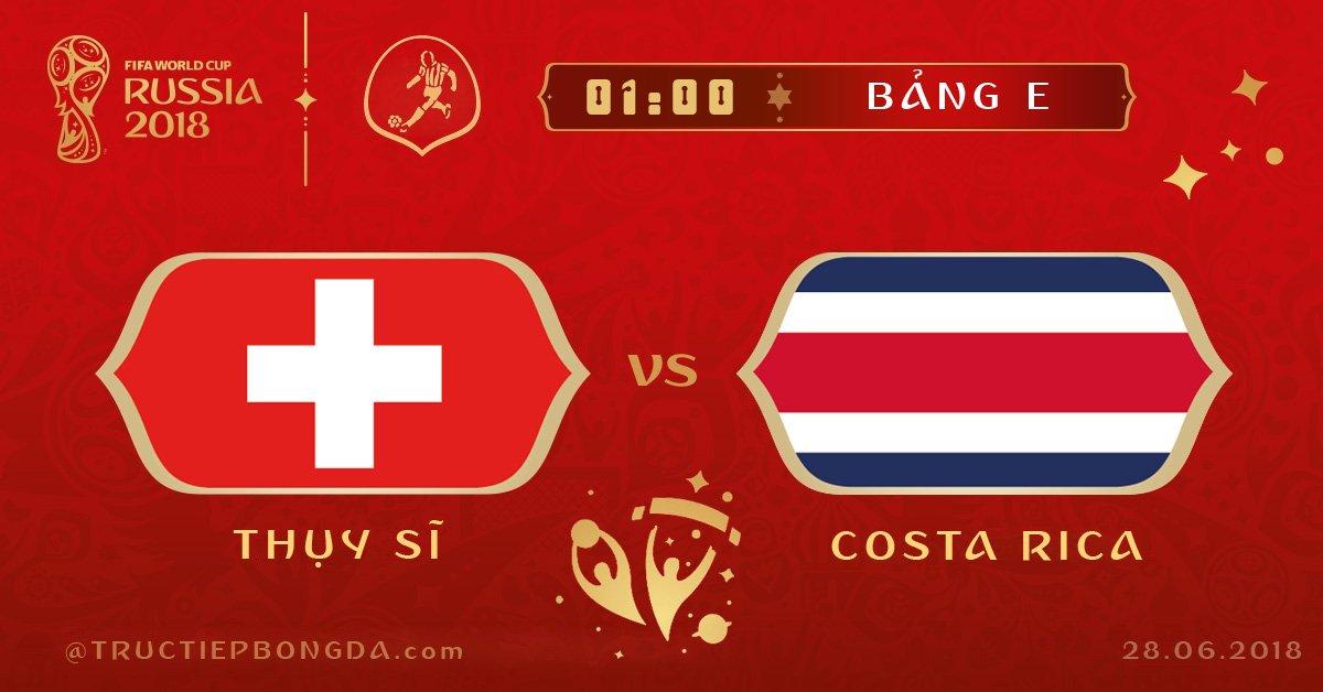 Thụy Sĩ vs Costa Rica