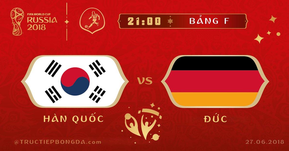 Hàn Quốc vs Đức