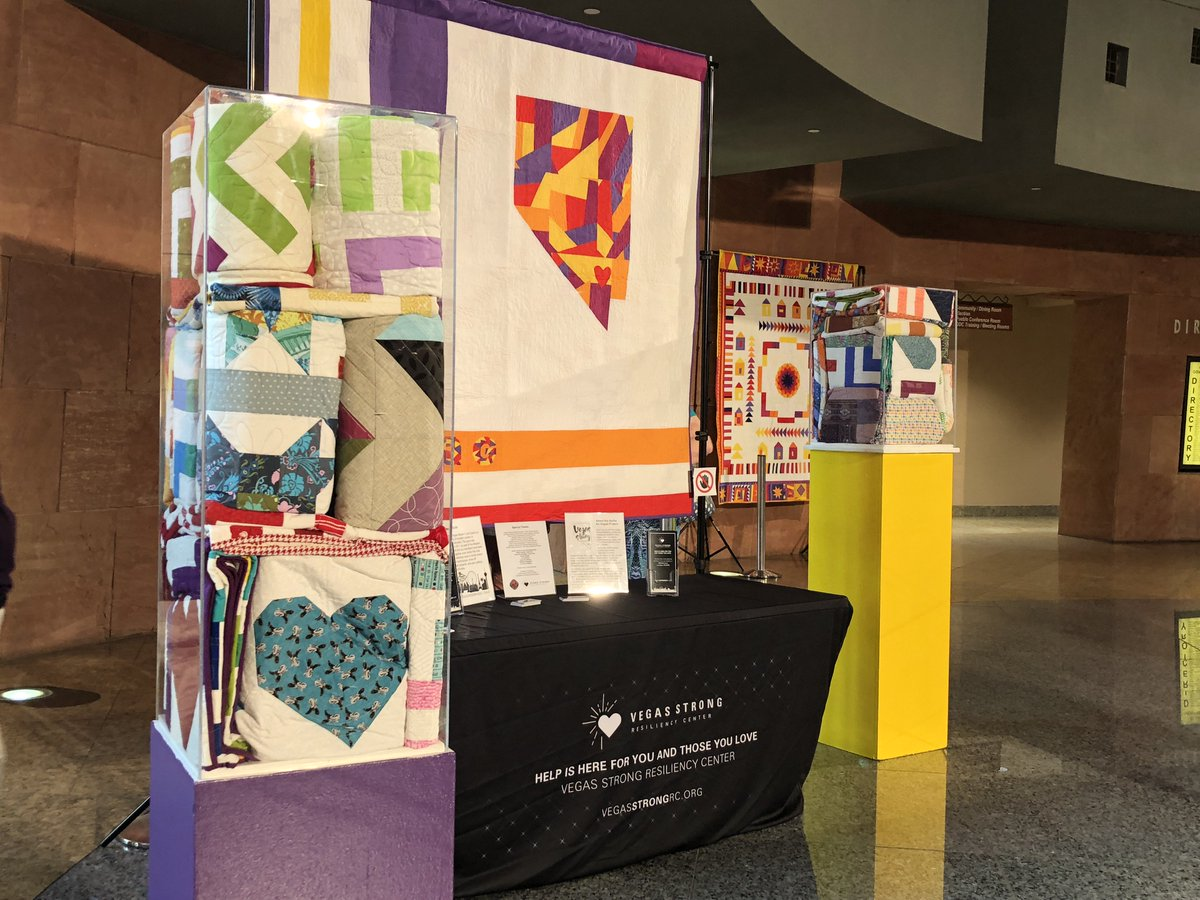 Quilts for Vegas exhibit honors #1October victims  https://t.co/yH63IfreSD  #VegasStrong