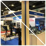 Image for the Tweet beginning: Day 1 of #broadcastasia with