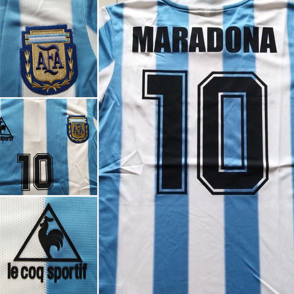 Sigue a @tdmas_cr y @JMSports_CR dale RT y participa por la camisa de Maradona. Sorteo esta noche. #ARG