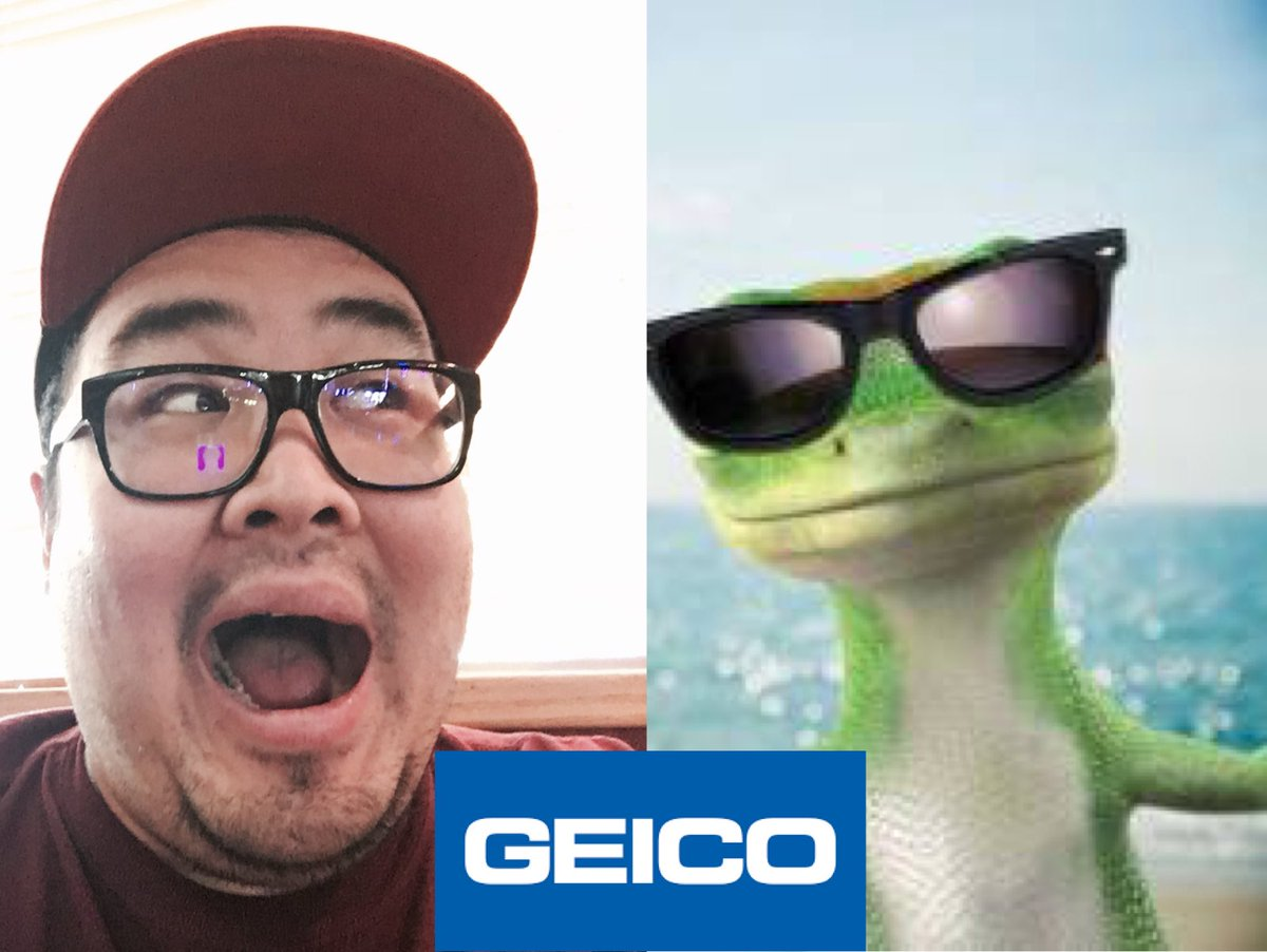 Happy to add #Geico to my list of clients today!!! For an animated ad no less! I grew up loving these commercials so now to be part of one is amazing! Living the dream! #voiceover #voiceactor #voiceacting #gecko #characterwork #charactervoices  #vo #insurance<br>http://pic.twitter.com/J6FrOZKVSy
