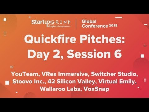 Quickfire Pitches | Day 2, Session 6 buff.ly/2K2Ulcl