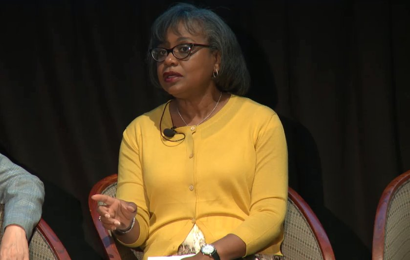 'A change in culture comes from the top. The understanding of what kind of culture exists does not occur necessary on the factory floor. The culture is pronounced and should be modeled by behavior that begins at the highest leadership.' -Anita Hill #sciencetoo