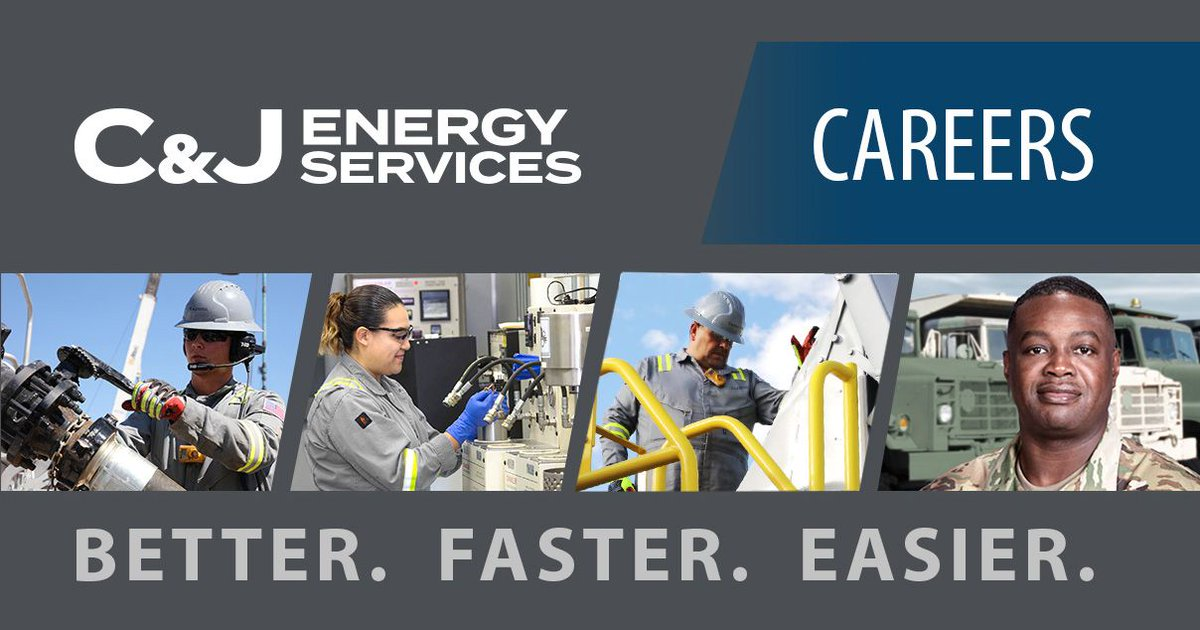 C J Energy Services On Twitter Now Up And Running Better Faster