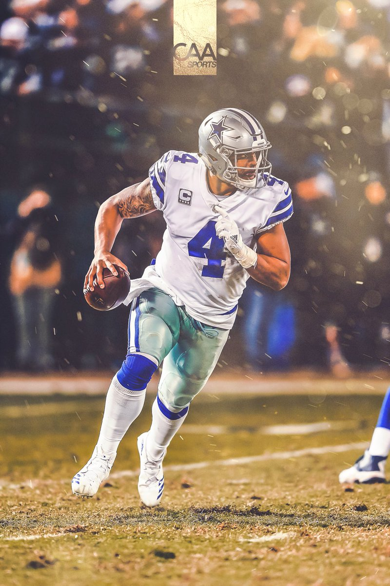 Excited to announce we will now represent Dak Prescott. Welcome to the CAA family, @dak ! #CAAFootball #BeLegendary