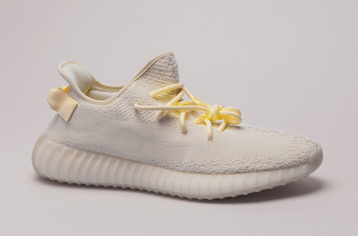 """5f9d1d908 ... of the upcoming YEEZY V2 350 """"Butter""""! To Enter  1.Follow  StockX and   StockXsneakers 2.Retweet and like this tweet! Winner will be chosen on  Saturday ..."""