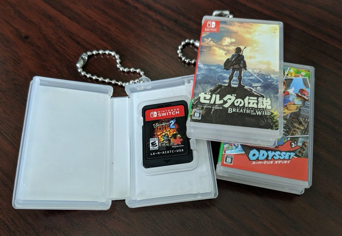 Amiibo Alerts On Twitter Mini Nintendo Switch Game Card Keychain Cases Are Available From Play Asia Https T Co Socccljmla Save 3 On Orders Of 19 W Coupon Code Ndeal Https T Co Tfmg66dq3a