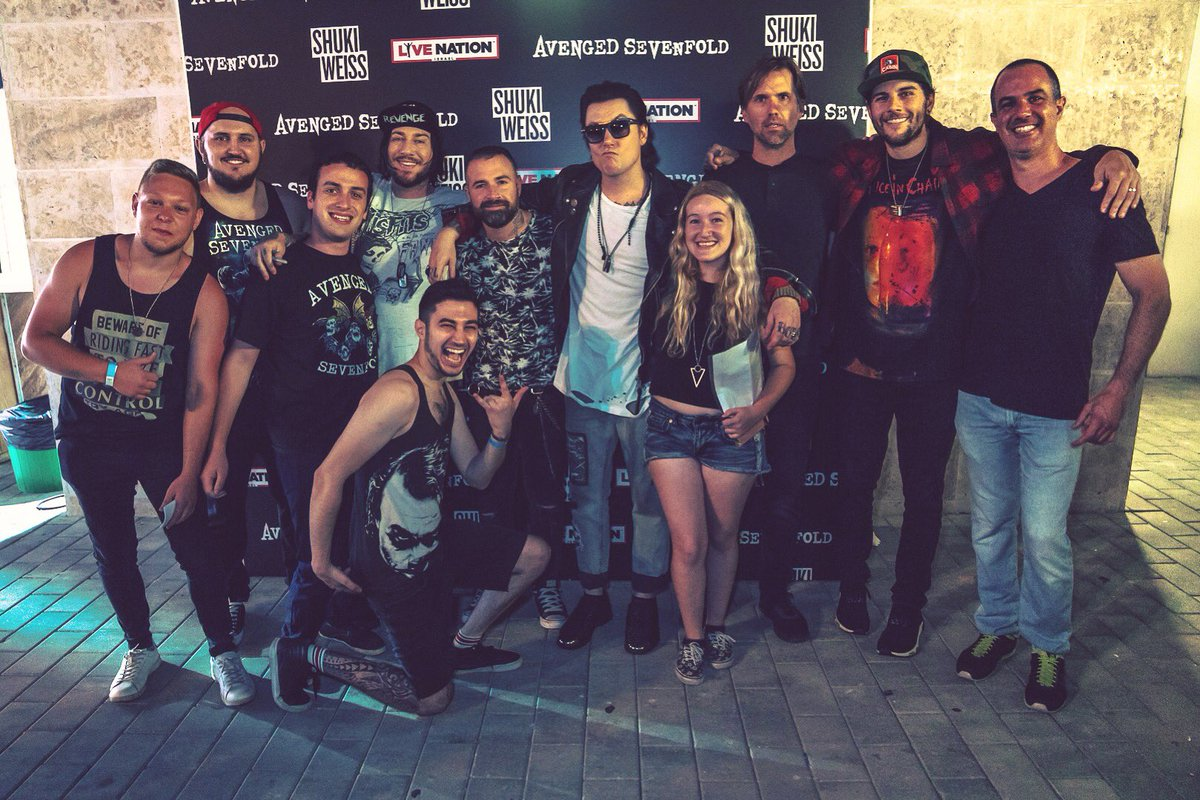 Avenged Sevenfold On Twitter Deathbatnation Meet And Greet Tel