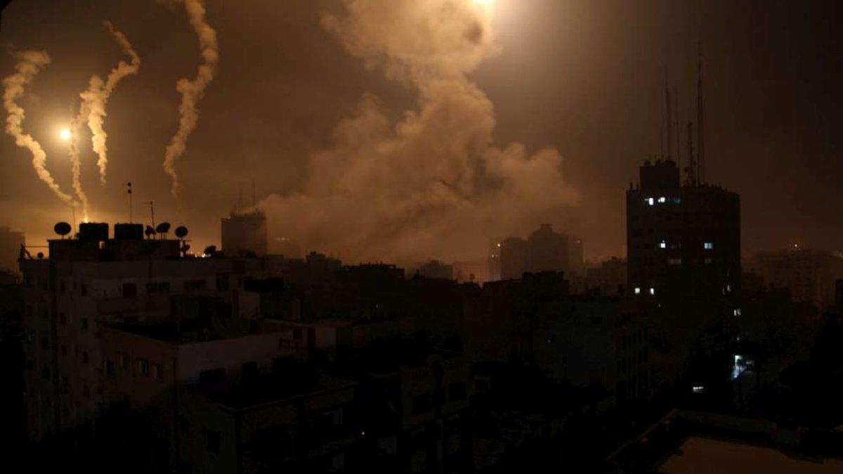Gaza, lancio di razzi Hamas verso Israele: notte nei rifugi #hamas https://t.co/n1XYeSvAAd