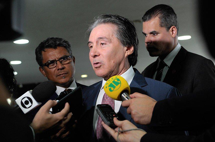 Eunício Oliveira: PL da cessão onerosa depende de acordo na Câmara