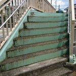 リアルで作画崩壊?!淵野辺の歩道橋の階段がヤバイ!