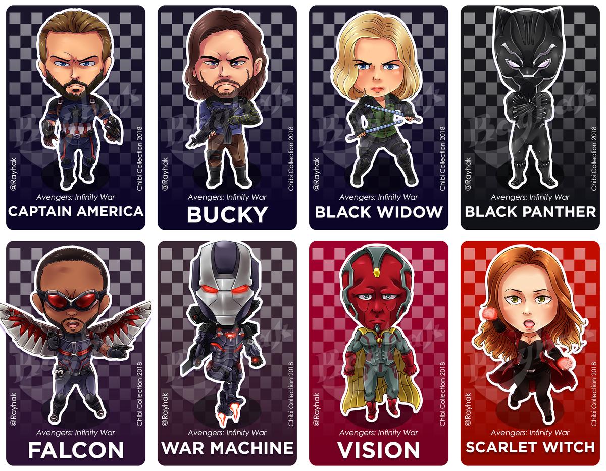 Rayhak Art On Twitter Set 1 Of Avengers Infinity War I Think