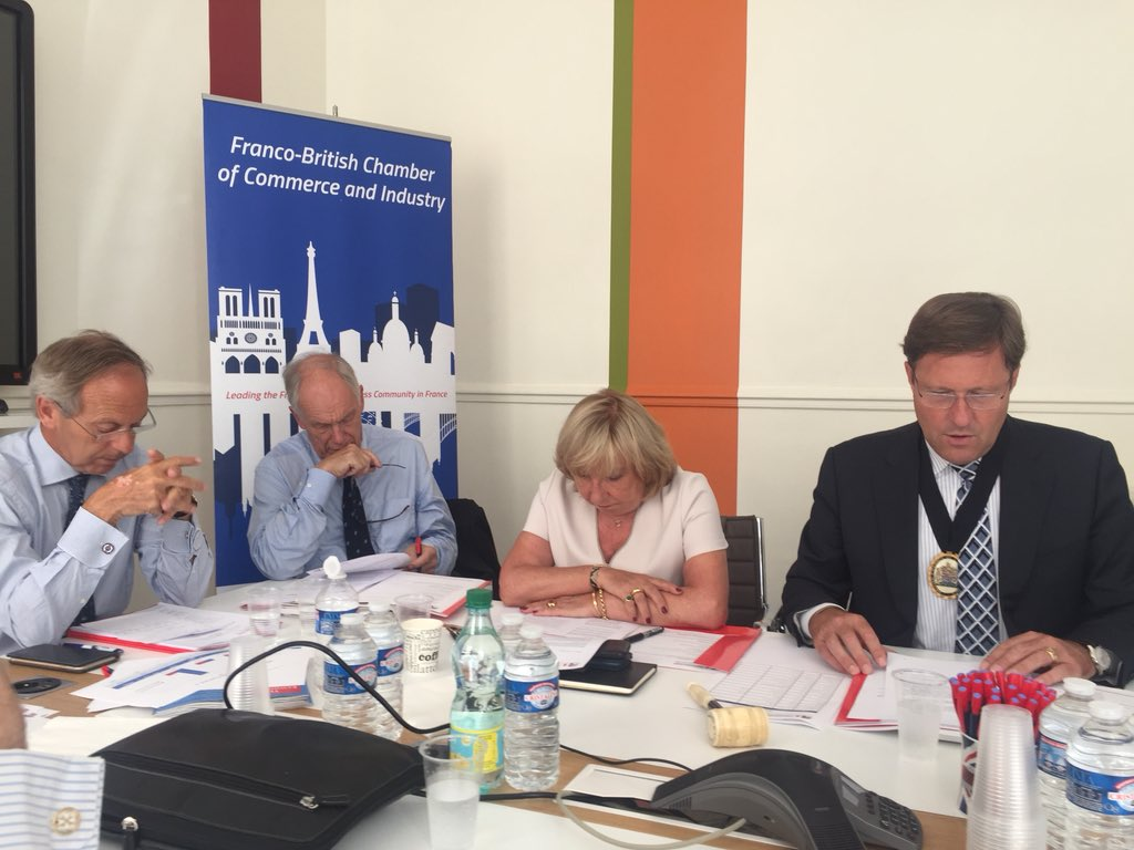 This morning @fbcci we have our #AGM. @FBCCIPresident presents the activities of the chamber and the good results. Thanks the #team and the #board for the work achieve.  #francobritishchamber <br>http://pic.twitter.com/1uH6Plhdbm