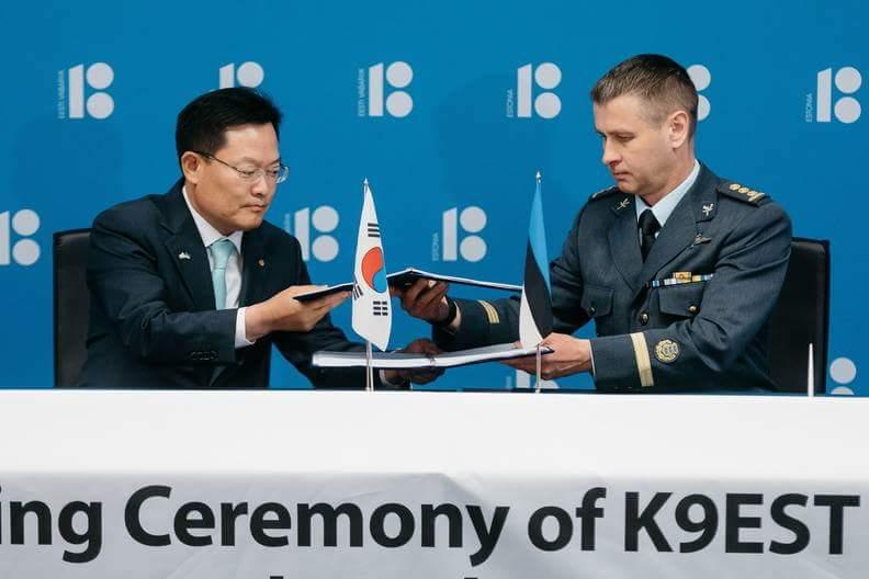 استونيا تشتري 12 مدفع K9 Thunder ذاتي الحركه من كوريا الجنوبيه  Dgr18L8XcAEn0uo