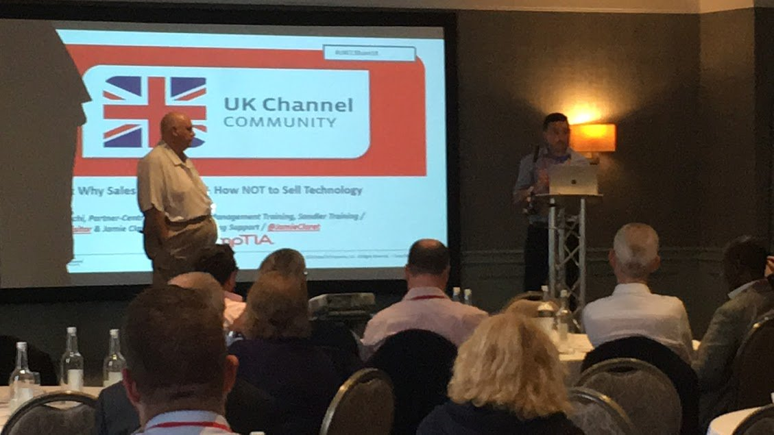 Jamie speaks at CompTIA UK Channel Conference last week in Birmingham on running a successful IT Company amzsup.co/2KdfDnF