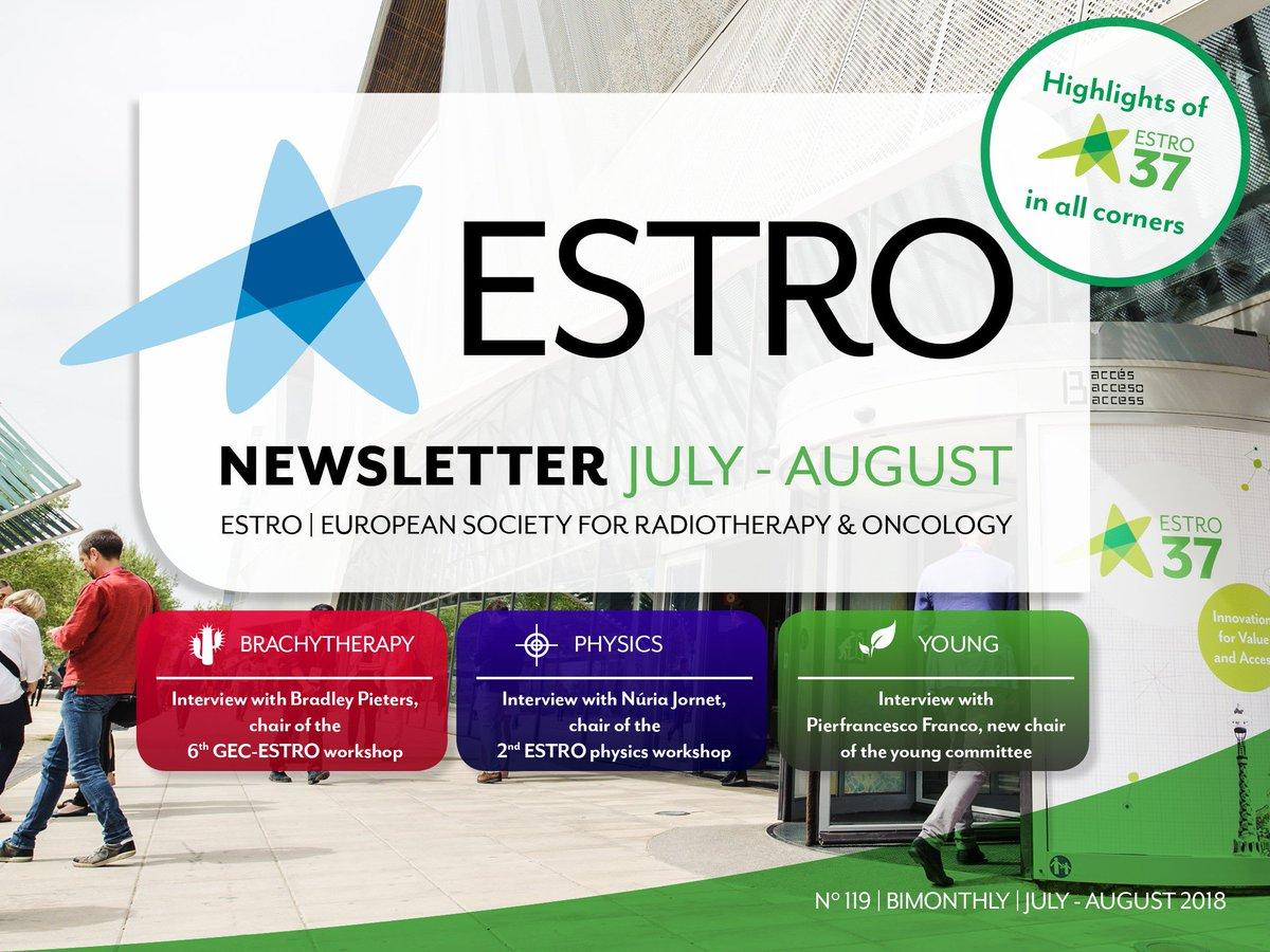 ESTRO on Twitter: