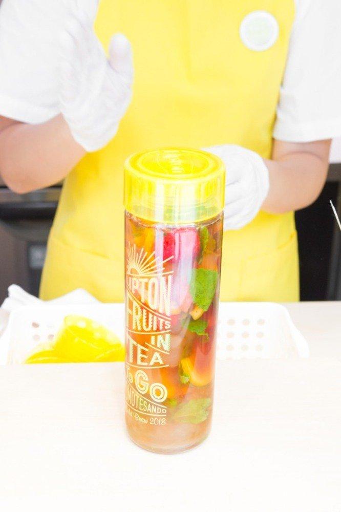 【取材】リプトン新感覚アイスティー専門店が東京&大阪に - 果物やシロップで紅茶をカスタマイズ -