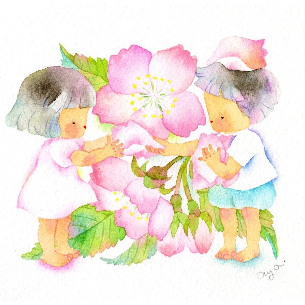 こばやしあや On Twitter 小さい四季の花シリーズテーマは