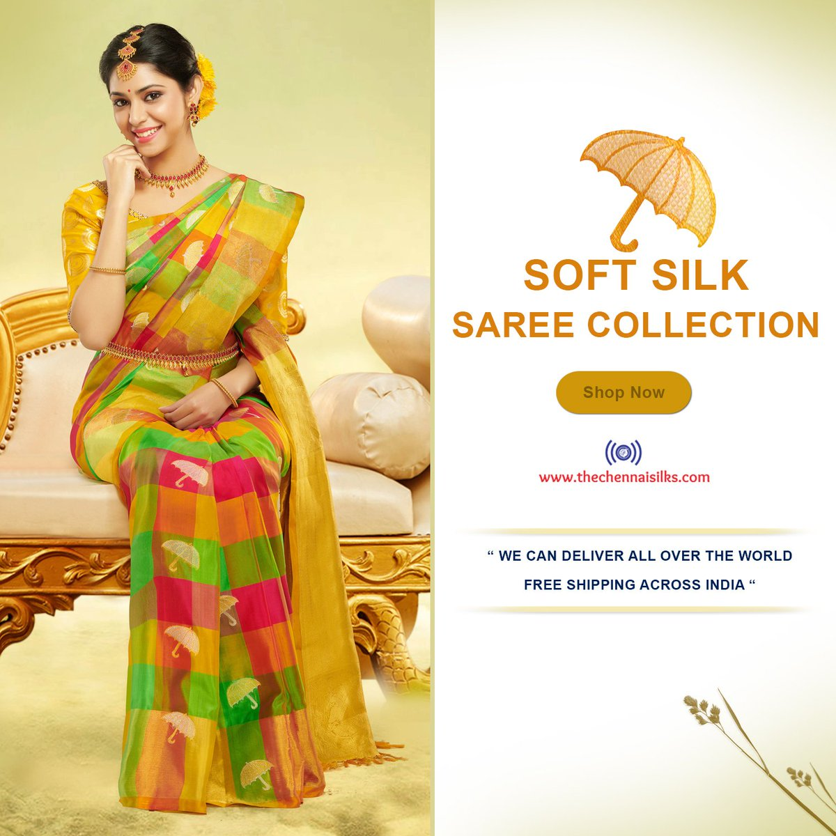 The Chennai Silks On Twitter New Arrival Soft Silk Saree Collection Shop Https T Co Fugvqsiv3g Softsilk Softsilksaree