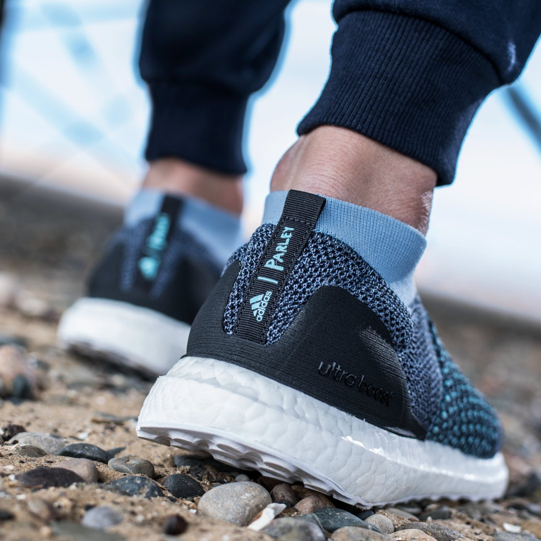 sports shoes 8589f da2df That s why  adidasrunning and  parley.tv have developed their  UltraBoost  Collection, focused on sustainable fashion. Do your part now online   in  stores ...