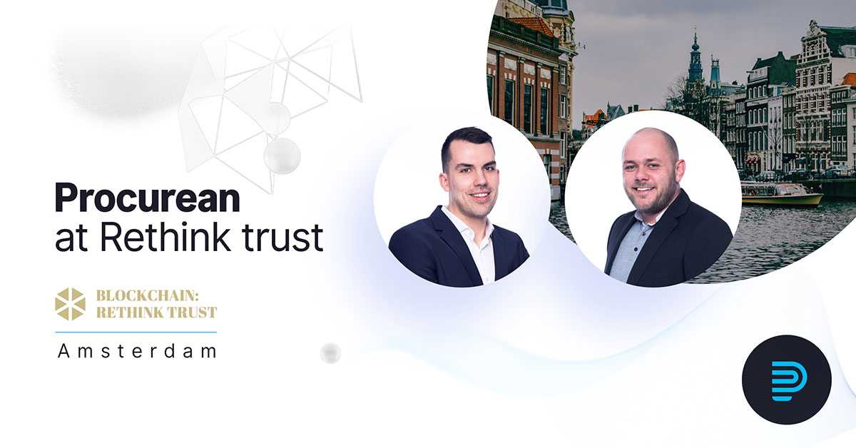 We are continuing our roadshow in #Amsterdam at the iconic tech event from #SiliconValley. Meet us at the #Blockchain #RethinkTrust on June 29th. 🇳🇱😊@RethinkTrust https://t.co/6cOAtq1cli