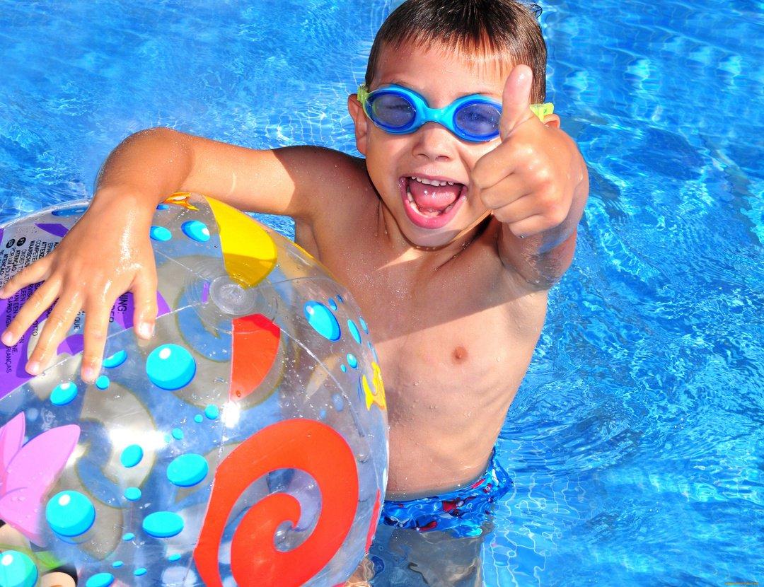Картинки про бассейн красивые детские, открытки днем рождения