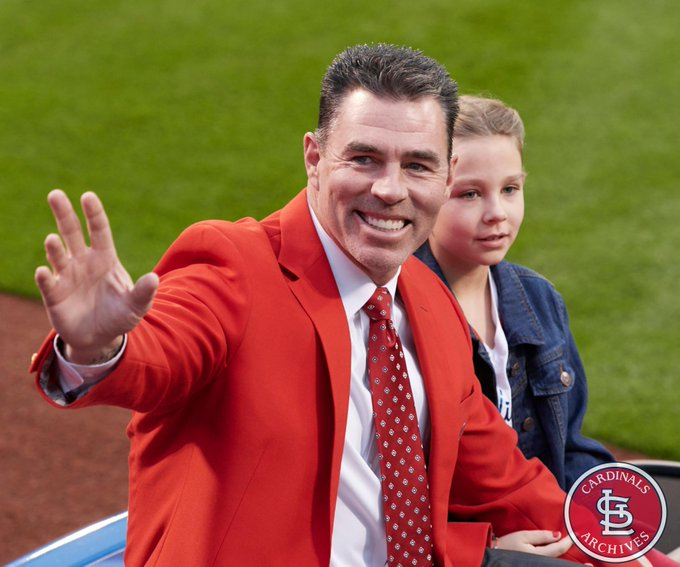 Join us in wishing a Happy 48th Birthday to 8x Gold Glove winner and outfielder, Jim Edmonds!