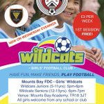 REMINDER 👀 | Girls Wildcats sessions are now on Wednesday evenings, see you all tonight #ROAR ⚽️🏃♀️👍     @cornwallfa @MountsBaySchool https://t.co/3WnSQkIxiQ