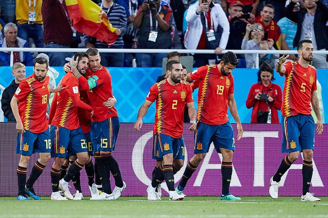 Трансляция матча Испания-Россия стала лидером телеэфира вУкраинском государстве