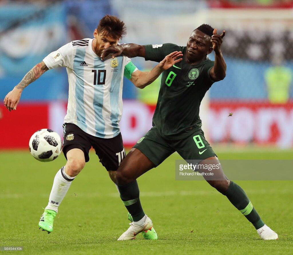 Russia 2018: This was one of the toughest games of my career - Etebo Karo