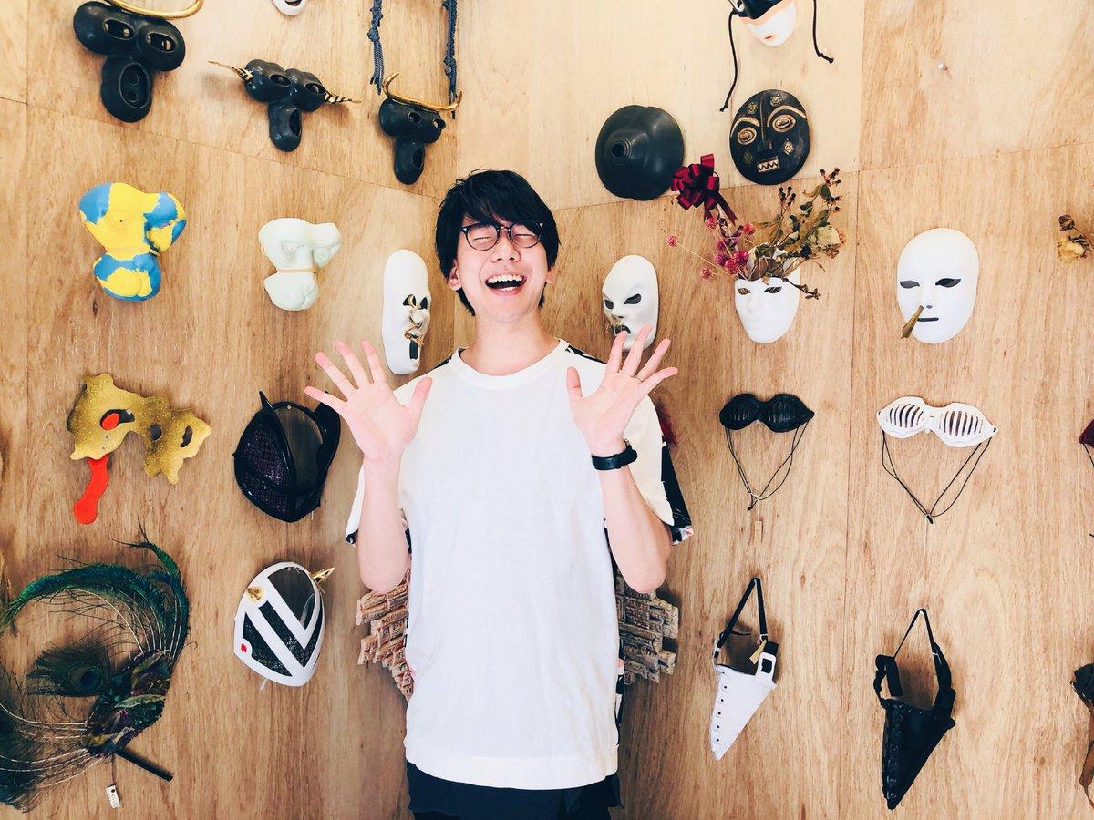 本日の鳥セツ ゲストで出演致します! 完全な僕の趣味で仮面屋さんにお邪魔させて頂きました! 鳥さんと前野さんに似合うマスクも選んだので、お楽しみに!  TOKYO MX で 23時から放送です!