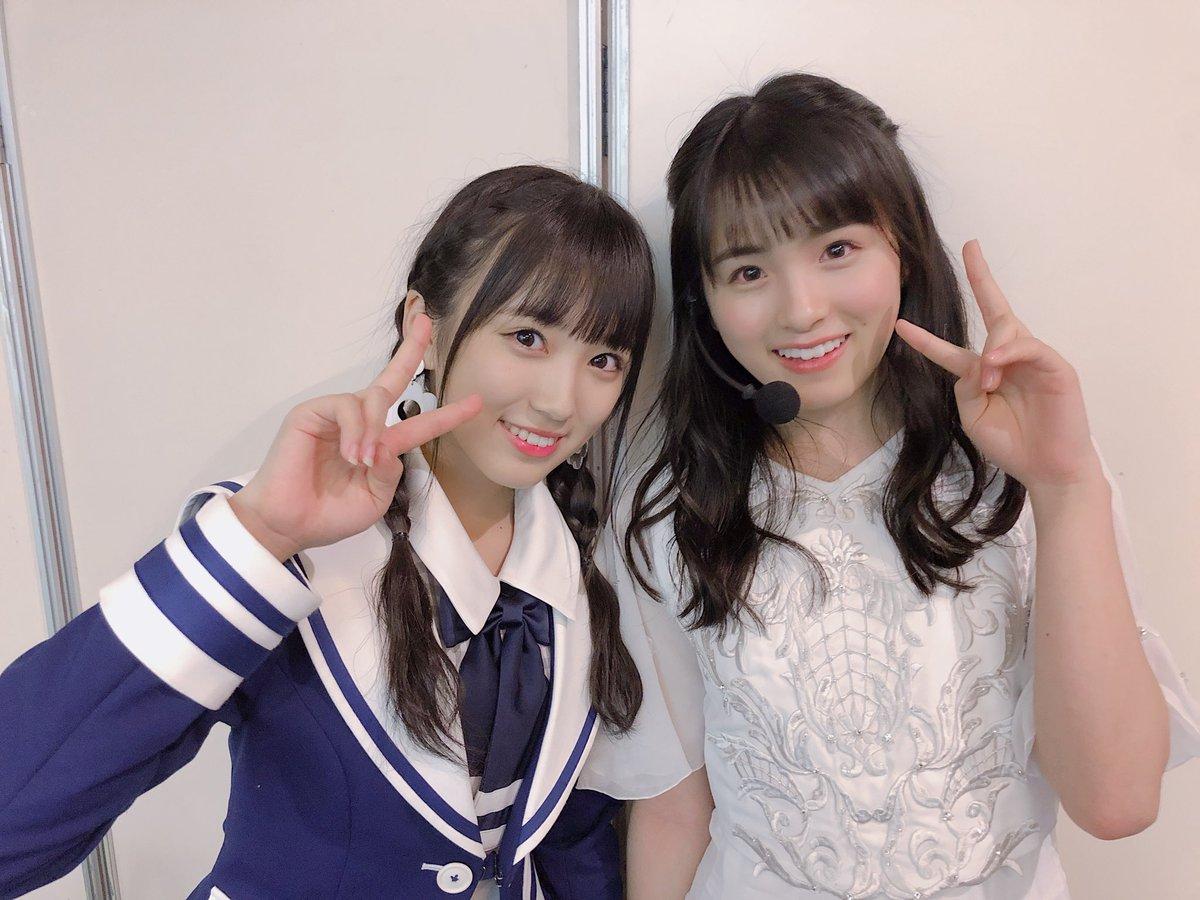 #テレ東音楽祭 ありがとうございました😊  奈子のことを好きって言ってくれてた大園桃子ちゃんに会えました♡ かわいい〜😭 また会えたらいいな♪