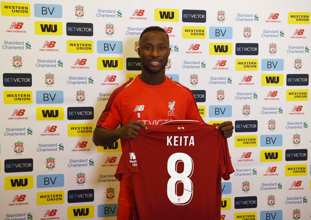 c54d45281e OFICIAL  Liverpool oficializa a contratação do meia Naby Keita ...