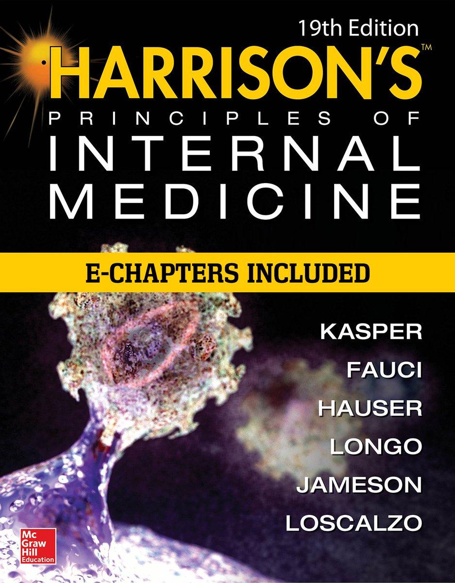 Novinky na platformě AccessMedicine 👍🧠 V Harrison's Principles of Internal Medicine najdeme nově aktualizované kapitoly: https://t.co/jHHqTr0peW #uvi2lf #databáze https://t.co/tya7DyL0az